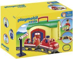 Playmobil 1.2 3 Tren mobil (PM6783)