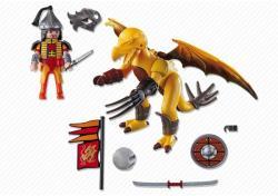 Playmobil Dragonul pietrei cu luptator (PM5462)