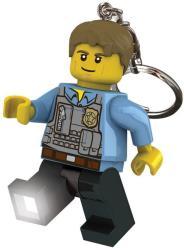 LEGO Világító rendőr kulcstartó lámpa 2 LGL-KE41