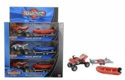 HTI Teamsterz quad motorcsónakkal