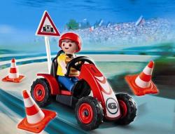 Playmobil Baiat Si Cart De Curse (PM4759)