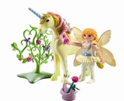Playmobil Zana Florilor Si Unicornul Raza De Soare (pm5442)