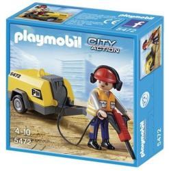 Playmobil Muncitor In Construcii (PM5472)