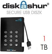 iStorage DiskAshur 1TB IS-DA-256-1000