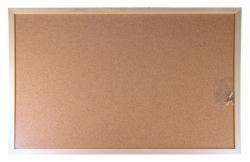 Victoria Kétoldalas parafatábla, fa keret, 60x90 cm (VVI35)