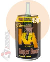 KA Ginger Beer 0,33l (24db/pack)