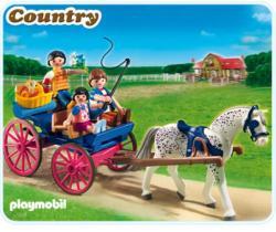 Playmobil Trasura Cu Cai (PM5226)