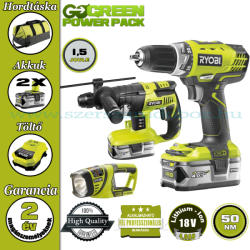 RYOBI GreenPowerPack 18V 4.0Ah