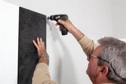 Rocada SkinBoard tűzhető habtábla, fekete, keret nélküli, 31x75 cm (VRS6249)