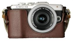 Olympus PEN E-PL7 + EZ-M1442EZ 14-42mm Pancake Zoom Kit (V205073)