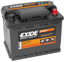 Exide START EN600 62AH 540A