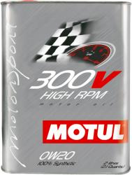 Motul 300V HIGHT RPM 0W20 2L