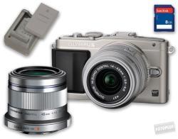 Olympus PEN E-PL5 + EZ-M1442 14-42mm + ET-M4518 45mm
