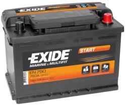 Exide EN750 Start 74AH 680A