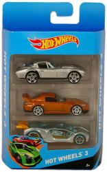 Mattel Hot Wheels kisautók 3 db-os készlet - 199