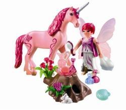 Playmobil Zana ingrijirii si unicornul trandafirul rosu (PM5443)