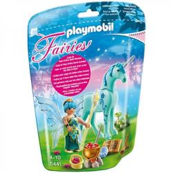 Playmobil Zana vindecatoare si unicornul safirul noptii (PM5441)