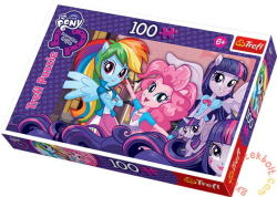 Trefl My Little Pony: Equestria girls 100 db-os (16253)