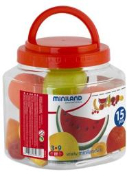 Miniland Set fructe din plastic (ML30681)
