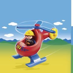 Playmobil Primul Meu Elicopter De Pompier (PM 6789)