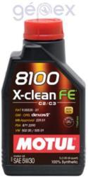 Motul 8100 X-Clean FE 5W30 (1L)