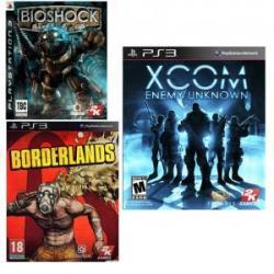 2K Games 2K Essentials Collection: BioShock + Borderlands + XCOM Enemy Unknown (PS3)