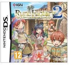 Natsume Rune Factory 2 Fantasy Harvest Moon (Nintendo DS)