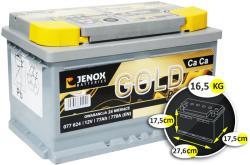 Jenox Gold 12V 77Ah jobb