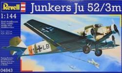 Revell Junkers Ju-52/3m Set 1/144 64843