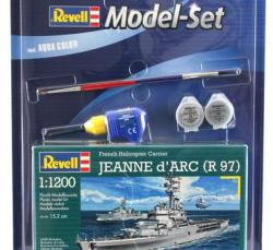 Revell Jeanne d'Arc R97 Set 1/1200 65896