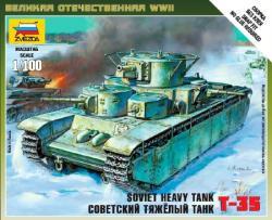 Zvezda Soviet Tank T-35 1/100 6203