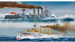 Revell Combi Set German WWII Cruisers (SMS Dresden SMS Emden) 1/350 5500