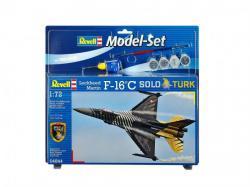 Revell Lockheed Martin F-16C Solo Türk Set 1/72 64844