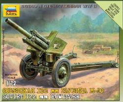 Zvezda Soviet M-30 Howitzer 1/72 6122