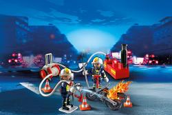 Playmobil Pompieri Cu Pompa De Apa (PM4825)