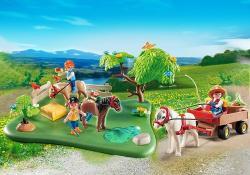 Playmobil Pasune si Trasura cu Ponei (PM5457)