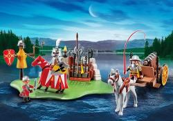 Playmobil Competitia Cavalerilor si Tun(PM5168)