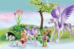 Playmobil Copii si Unicorni (PM5478)