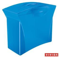 Esselte Europost Vivida Függőmappa tároló műanyag, kék, 5db függőmappával (623983)