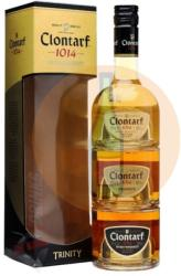 COOLEY DISTILLERY Clontarf Trinity Pack Whiskey 0,6L 40%
