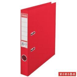 Esselte Standard Vivida Iratrendező 50 mm A4 PP/PP élvédő sínnel piros (624072)