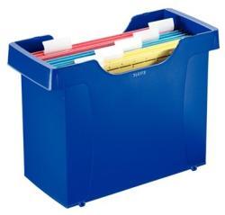 Leitz Plus Függőmappa tároló műanyag 8 db függőmappával kék (19931035)