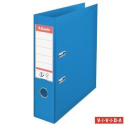 Esselte Standard Vivida Iratrendező 75 mm A4 PP/PP élvédő sínnel kék (624067)