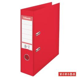 Esselte Standard Vivida Iratrendező 75 mm A4 PP/PP élvédő sínnel piros (624068)