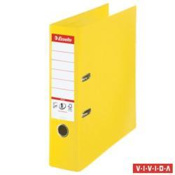 Esselte Standard Plus Vivida Iratrendező 80 mm A4 PP/PP élvédő sínnel sárga (624076)