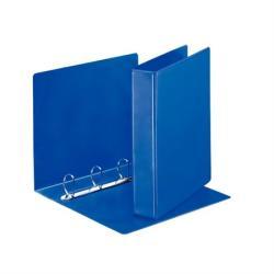 Esselte Gyűrűs dosszié panorámás 4 gyűrű 65 mm A4 PP/PP kék (49762)
