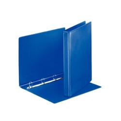 Esselte Gyűrűs dosszié panorámás 4 gyűrű 35 mm A4 PP/PP kék (49757)