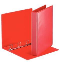 Esselte Gyűrűs dosszié panorámás 4 gyűrű 50 mm A4 PP/PP piros (49713)