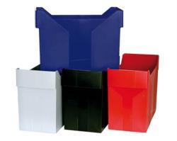 DONAU Függőmappa tároló műanyag fekete (7421FK)
