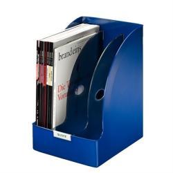 Leitz Plus Jumbo Iratpapucs 205 mm elválasztókkal műanyag kék (52390035)